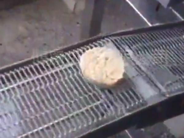 汉堡肉饼流水线