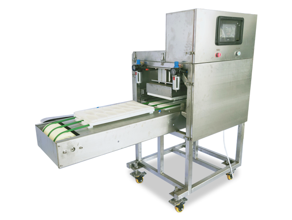 Chicken fillet tamping machine
