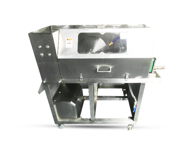 Fish two-section slicing machine